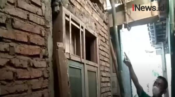 Video 23 Rumah di Cilacap Rusak akibat Tanah Bergerak