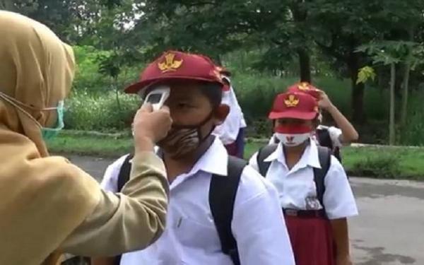 Sekolah Tatap Muka di Palembang, Kantin Tutup Orang Tua Wajib Siapkan Bekal