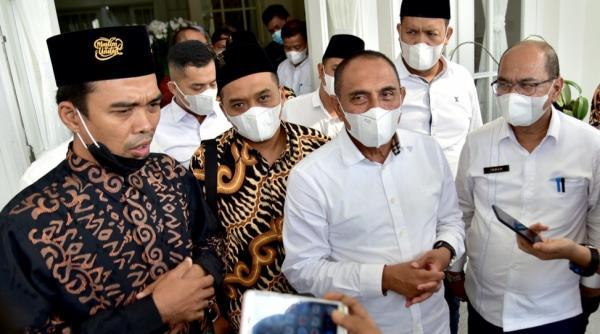 UAS Bahas Kerukunan Bersama Edy Rahmayadi: Sumut Contoh Membangun Kebhinekaan
