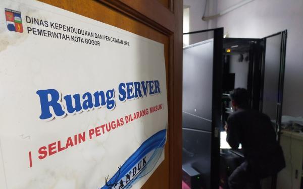 Server Data Disdukcapil Kota Bogor Diretas, Layanan Dialihkan Manual