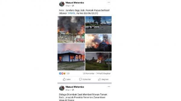 Isi Akun Facebook Ketua KNPB Merauke, Selalu Posting Provokasi dan Hoaks