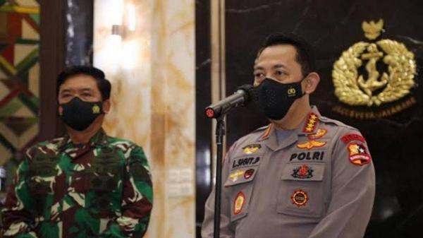 Panglima TNI dan Kapolri Tinjau Vaksinasi di 3 Daerah Hari Ini
