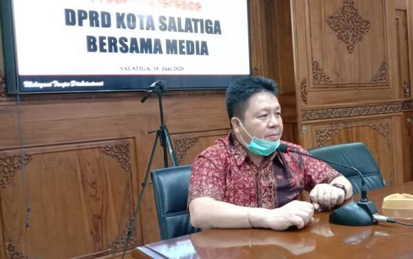 Ketua DPRD Salatiga Minta Masyarakat Ingatkan Jika ada Pelanggaran Prokes