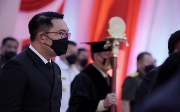 Megawati Orasi Ilmiah di Unhan, Ridwan Kamil: Penuh Nasihat Terbaik