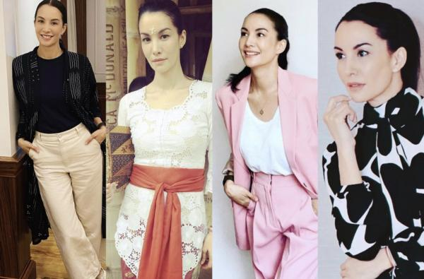 5 Gaya Fashion Anggun Nadya Hutagalung yang Memesona