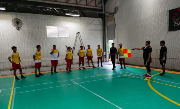 Tingkatkan Kualitas Wasit, Asosiasi Futsal Provinsi Sulsel Gelar Kursus Level 1 Nasional