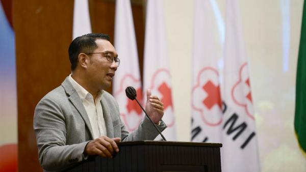 Gubernur Ridwan Kamil Minta PMI Jabar Aplikasikan Telemedicine