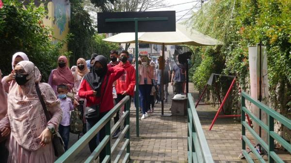 KBB Zona Merah, Wisatawan Tetap Antusias Berwisata di Lembang