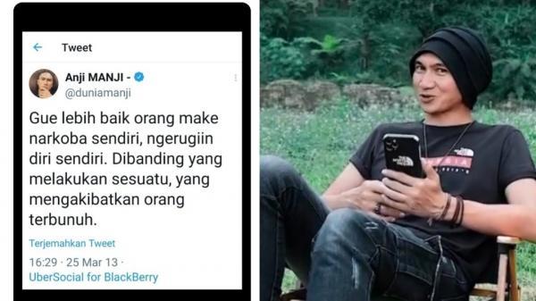 Cuitan Lama Anji soal Narkoba Disinggung Netizen: Hebat Bisa Ramal Masa Depan Sendiri Kalahkan Denny Darko