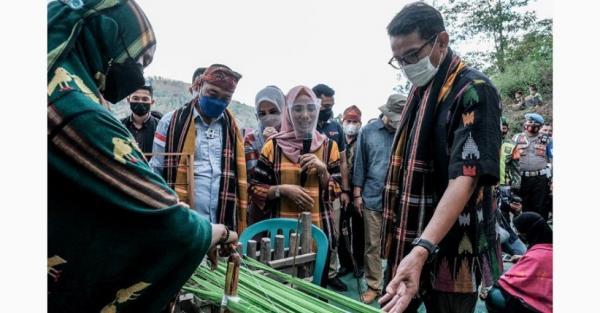 Sandiaga Uno Ajak Kota Bima dan Dompu Bangun 3 Desa Wisata