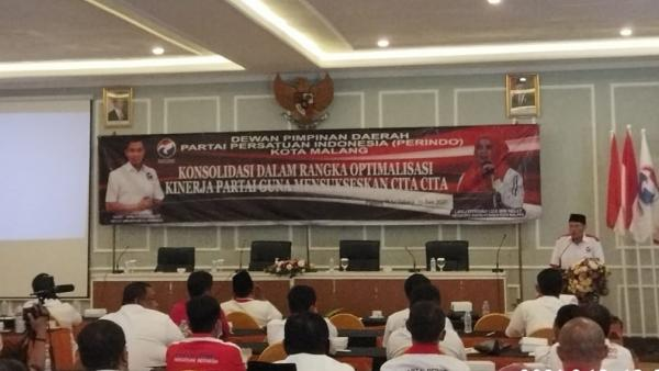Jelang Pemilu 2024, Partai Perindo Jatim Gelar Bimtek dan Konsolidasi di Malang
