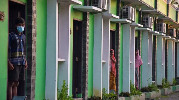 Puluhan Pengungsi Rohingya Isolasi di Hotel Medan