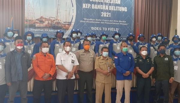 Puluhan Nelayan di Bangka Jadi Siswa BMKG