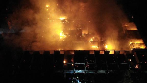 Kebakaran, Ratusan Lapak Sembako Pasar Blahbatuh Gianyar Hangus