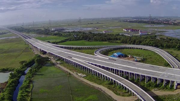 Begini Progres Pembangunan Jalan Tol Cibitung-Cilincing