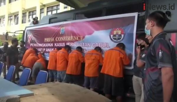 Video 8 Pelaku Pencabulan Remaja Disabilitas Ditangkap di Manado