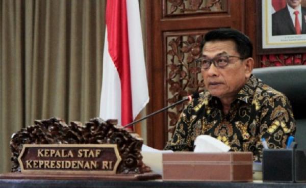Bertemu FKUB Sulawesi Tengah, Moeldoko Tegaskan Tak Ada Agama Benarkan Kekerasan