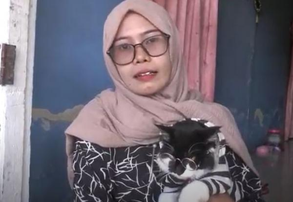 Viral Kucing Pintar di Polewali Mandar Suka Naik Motor Keliling Kota