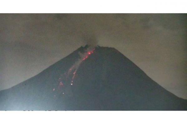 BPPTKG Catat 3 Kali Awan Panas Gunung Merapi Sejauh 1,2 Kilometer Sepanjang Pagi Ini