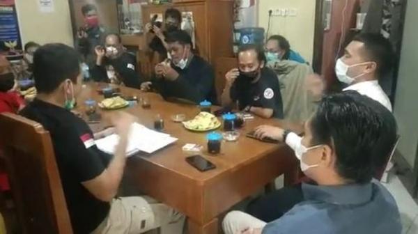 Datangi Mapolres Pemalang, Massa Pertanyakan Progres Kasus Dugaan Pungli BPNT