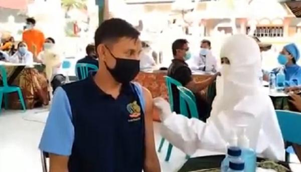 Ratusan Warga Binaan Lapas Singaraja Disuntik Vaksin AstraZeneca