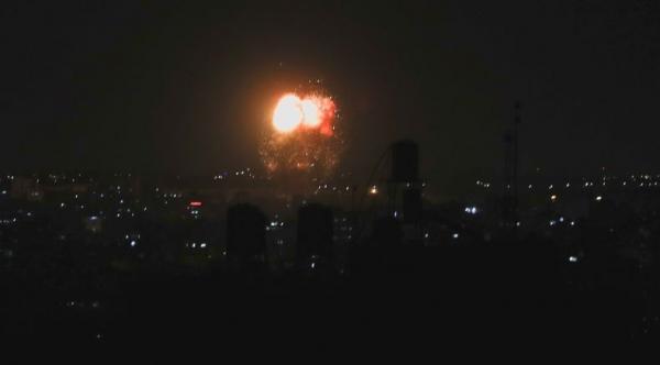 Israel Serang Gaza Lagi, Sirine di Perbatasan Meraung