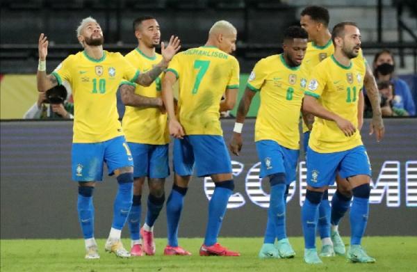 Hasil Copa America 2021: Dipimpin Neymar, Brasil Bantai Peru 4-0