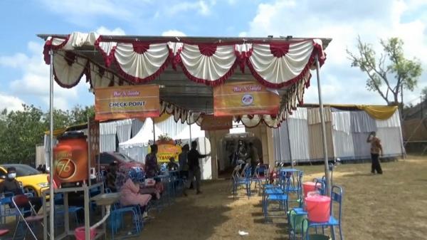 Satpol PP Gunung Kidul Bubarkan Acara Hajatan Anak Kepala Dusun