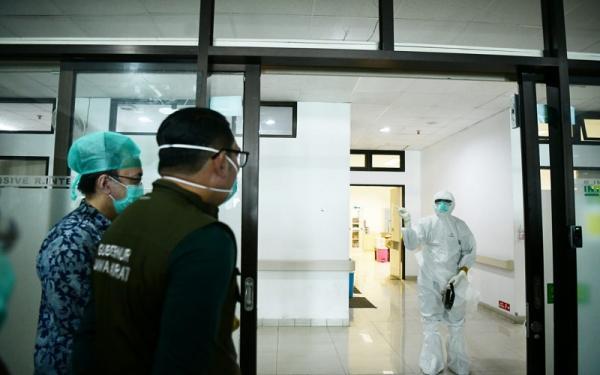 Darurat Covid-19,  Ridwan Kamil: Jabar Tambah 2.400 Tempat Tidur Baru di Rumah Sakit