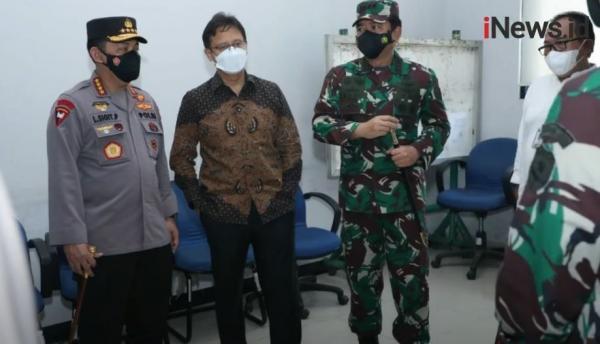 Tekan Laju Covid-19, Panglima TNI Tegaskan Sinergitas 4 Pilar