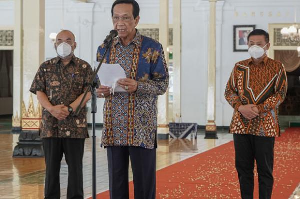 Capaian Vaksinasi di Kota Jogja 100 Persen, Sultan Minta Kabupaten Lakukan Percepatan