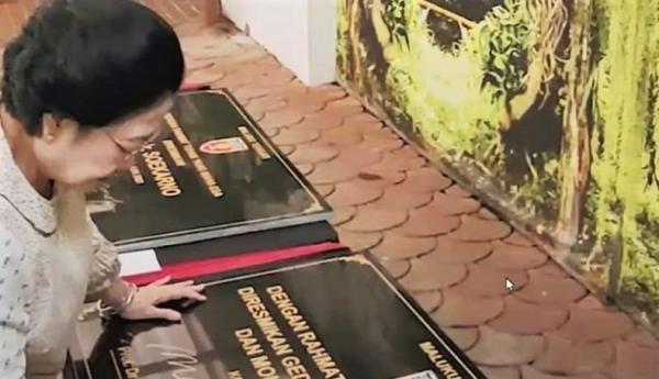 Nama Bung Karno Diabadikan di Malteng, Megawati Ungkap Sejarah Kota Masohi