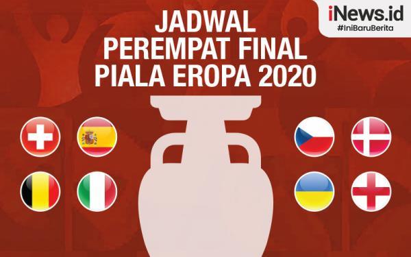 5 Berita Terpopuler Hari Ini : Jadwal Perempat Final Euro 2020, Bocah 3 Tahun Penuh Luka Lebam