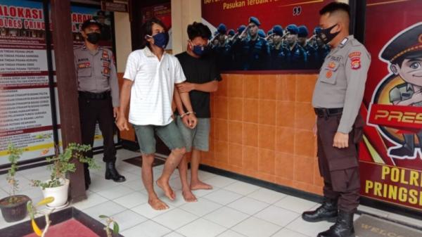 2 Pelaku Curanmor di Pringsewu Ditangkap, Satu Pincang Ditembak Polisi