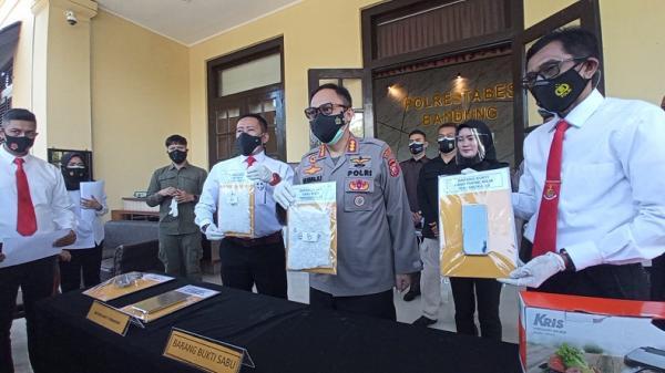 Selundupkan 1 Kg Sabu ke Bandung, Satu Anggota Sindikat Narkoba Riau Ditangkap
