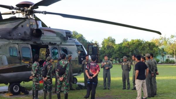 Gunakan Heli Caracal, TNI Evakuasi Dua Jenazah Teroris Poso dari Jurang Kedalaman 50 Meter