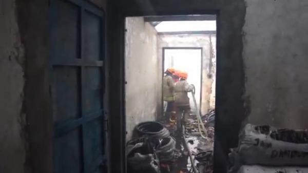 Gudang Sepeda di Bacip Bandung Terbakar, Pemilik Rugi Rp5 Miliar