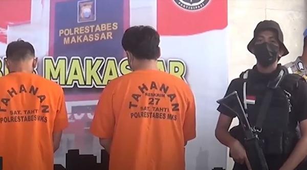 2 Penjual Bahan Peledak di Makassar Ditangkap, Polisi Sita Ratusan Detonator