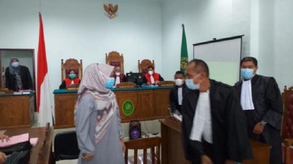 Kasus Ijazah Palsu, Oknum Anggota DPRD Tanjungpinang Dituntut 1 Tahun Penjara