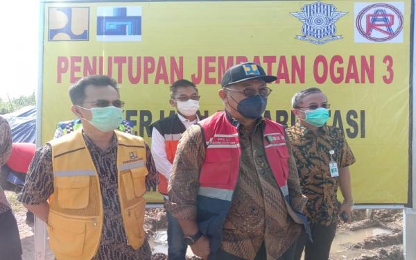 Jembatan Ogan III Arah Gerbang Tol Palindra Ditutup, Ada Apa?