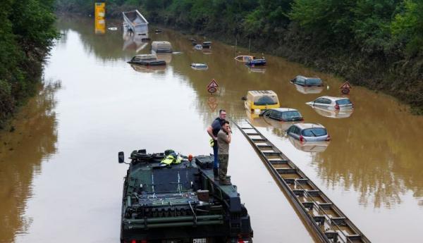 133 Orang Tewas akibat Banjir Bandang di Jerman, Bencana Paling Mematikan dalam 50 Tahun