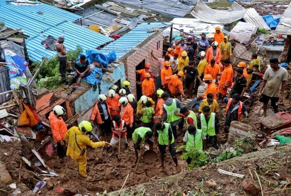Banjir dan Longsor Bunuh Ratusan Orang di India, Curah Hujan Capai Rekor 60 Cm Sehari!
