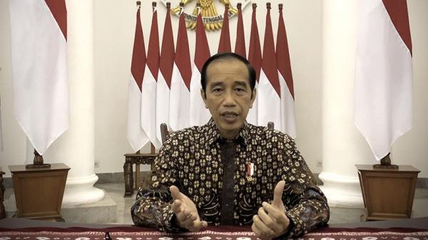 Presiden Jokowi Instruksikan Polri Tak Reaktif soal Mural 404: Not Found
