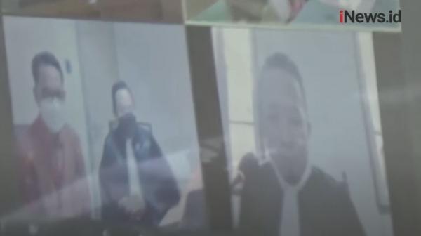 Video Gubernur Sulsel Nonaktif Nurdin Abdullah Jalani Sidang Perdana