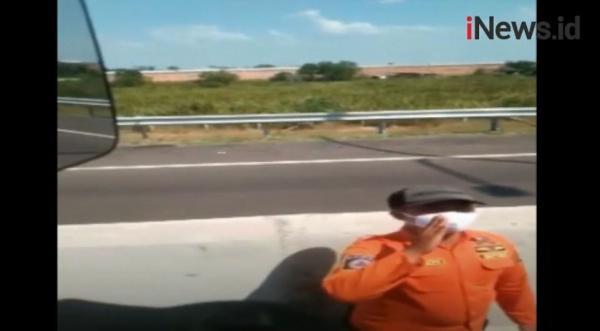Video Viral Pungli Satgas Covid kepada Sopir Truk di Tol Kramasan Ogan Ilir