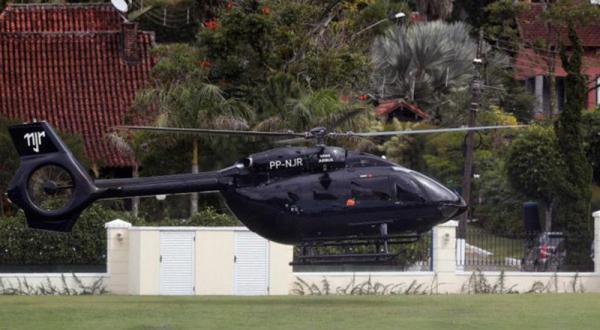 Neymar Pamer Helikopter Batman Rp199 Miliar, Begini Penampakannya