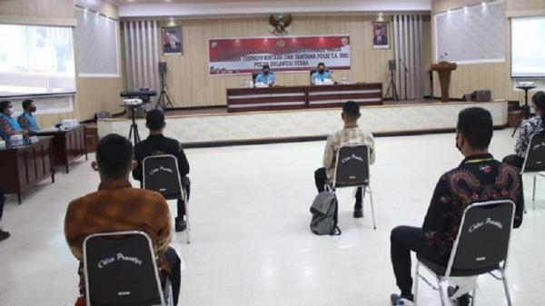 Sidang Akhir Penerimaan Bintara dan Tamtama Polri di Polda Sulut, 672 Peserta Lulus