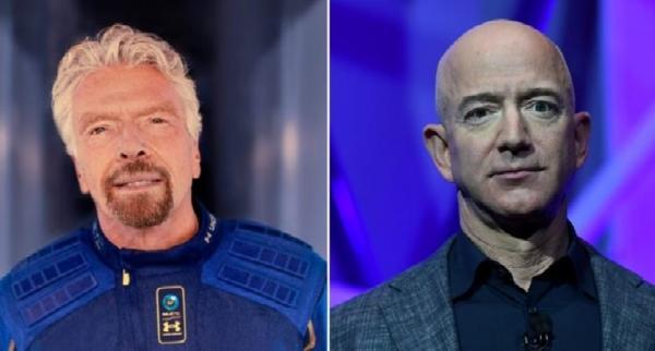 Terbang ke Luar Angakasa, Jeff Bezos dan Richard Branson Dinilai Tidak Layak Dapat Gelar Astronot