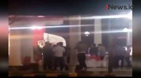 Video Viral Acara Pisah Sambut Kapolres Rembang di Masa PPKM