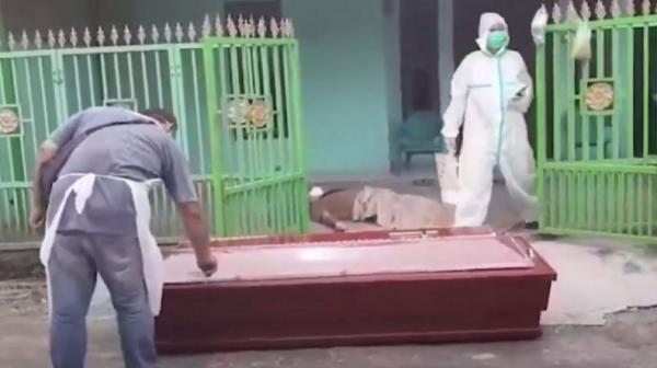 Viral Warga Isoman di Medan Meninggal Tergeletak di Teras Rumah, Warga Takut Mendekat